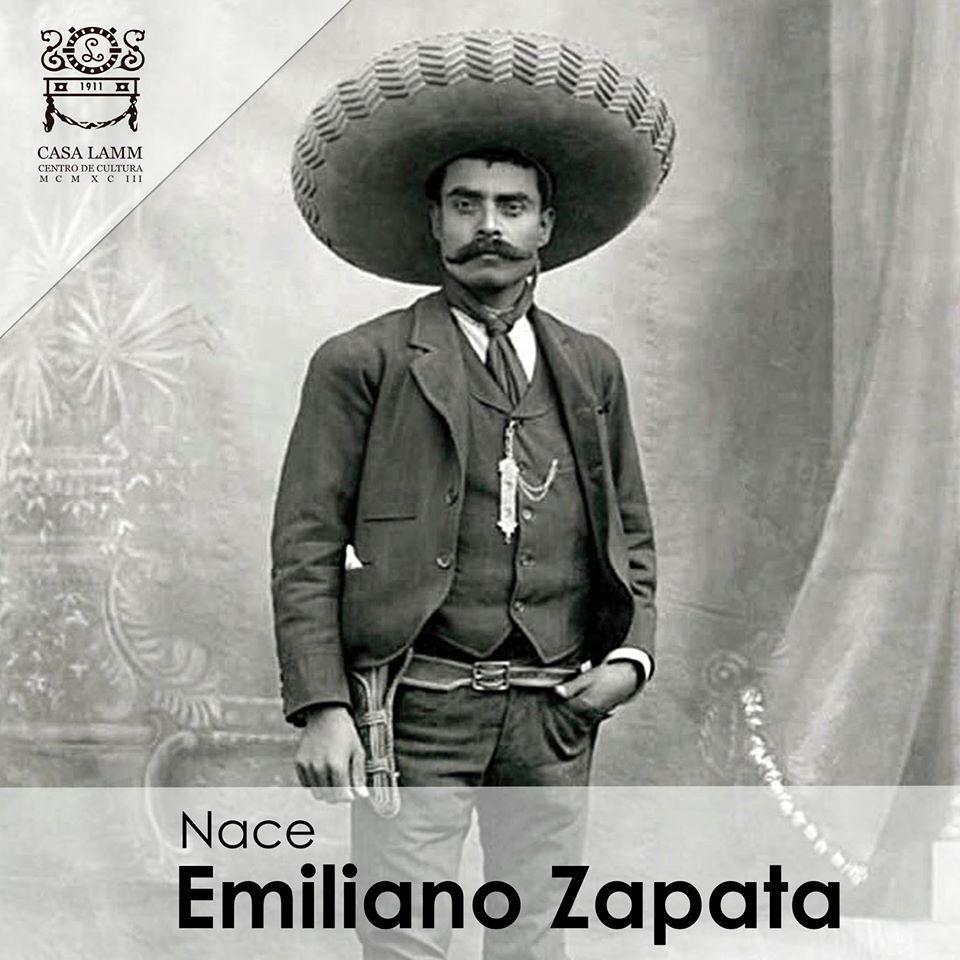 """""""Quiero morir siendo esclavo de los principios, no de los hombres."""" Conmemoremos el nacimiento de #EmilianoZapata http://t.co/QrE7af81UP"""
