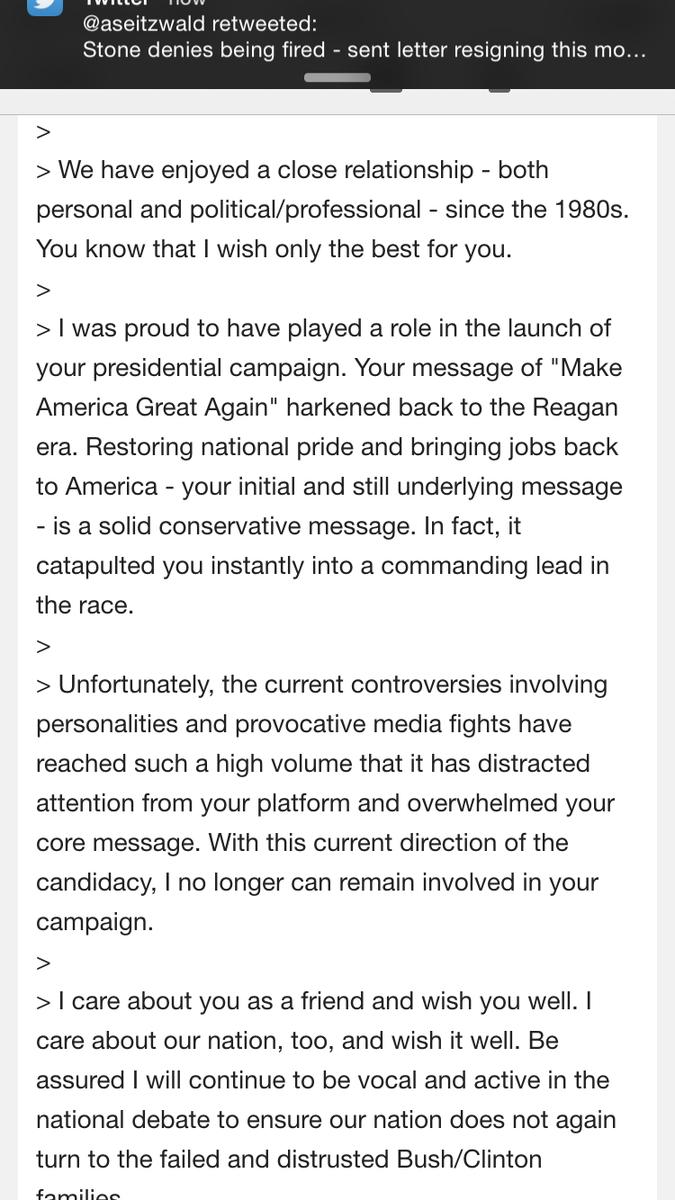 breaking news letter