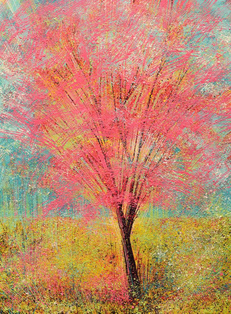 The Pink Tree (original painting) by Marc Todd via @artfinder http://t.co/ChVyAlCCkR https://t.co/vhlcDUqBvR
