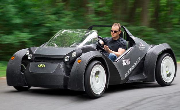 The World's First #3D #Printed #Car Is a #Blast to #Drive http://t.co/9nZL8ooVbg http://t.co/gHWLwIaCMb