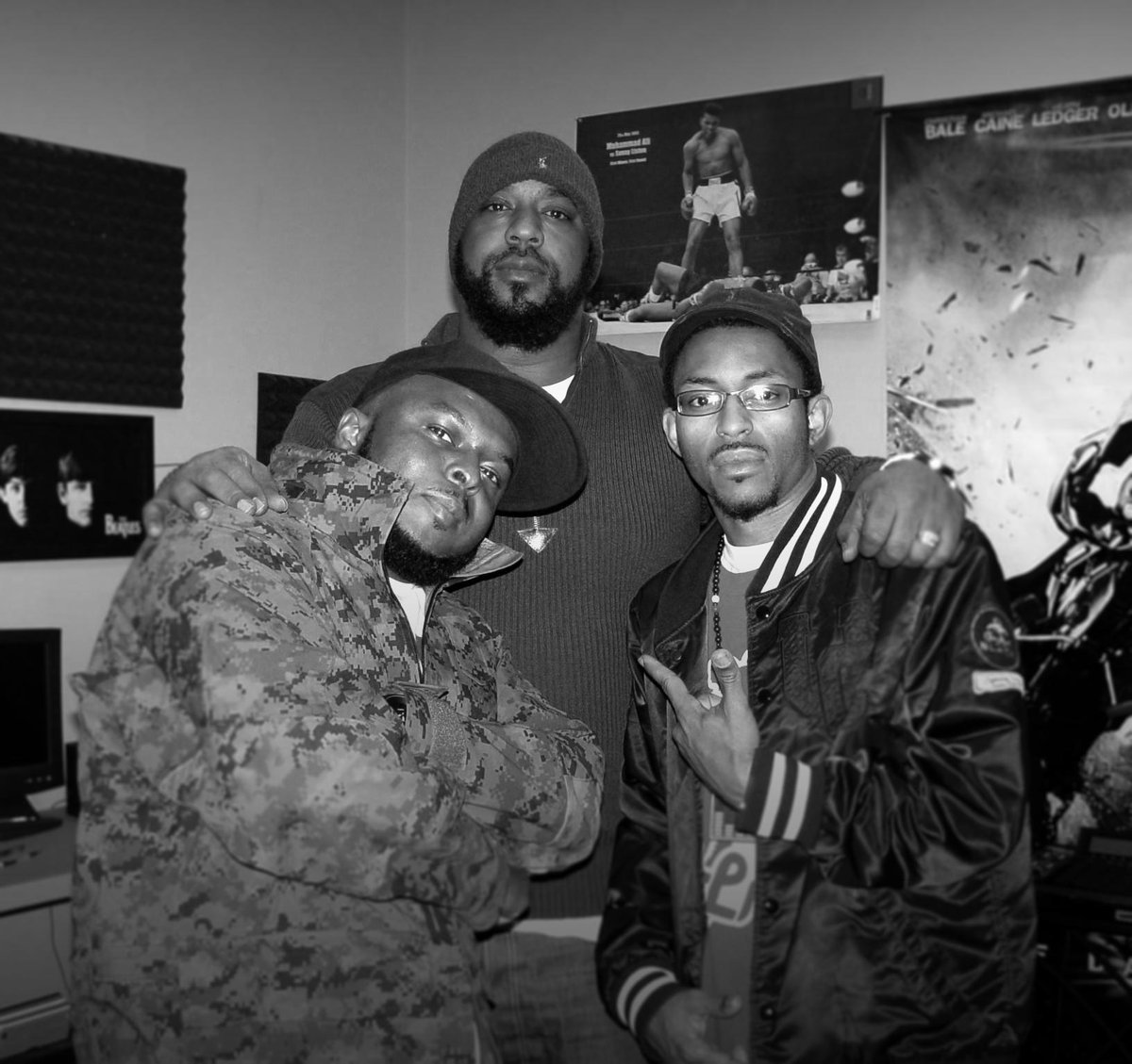 After we record..we had a dope conversation and he told me something that still inspires me today #Salute #SeanPrice http://t.co/2L1em4GJbf
