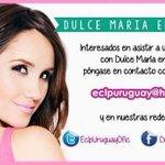 #GUERREROS de #URUGUAY Si quieren una convivencia de @DulceMaria en su país, contacten con @EclpUruguayOfic http://t.co/X3b1m74gMI