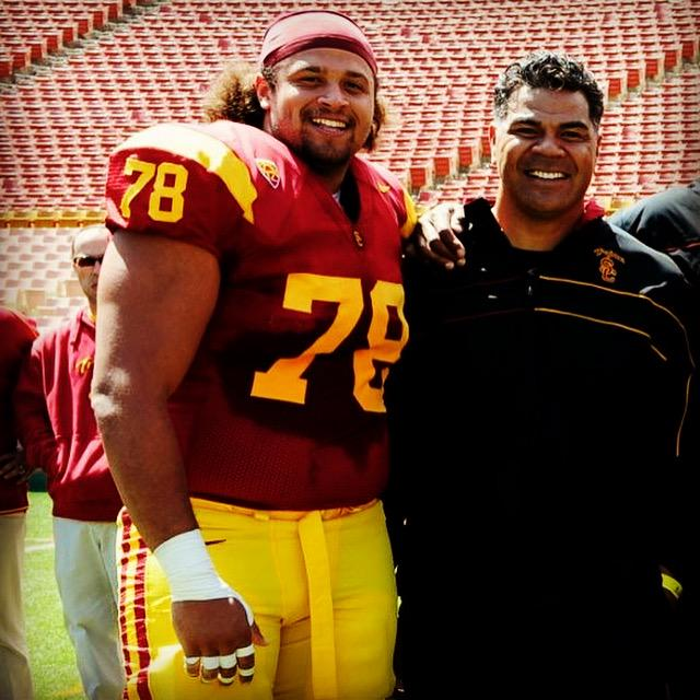 Congratulations Junior Seau for his induction into the #HOF! One of the best to do ever do it. #FightOn #RIP http://t.co/mg0apuUvnM