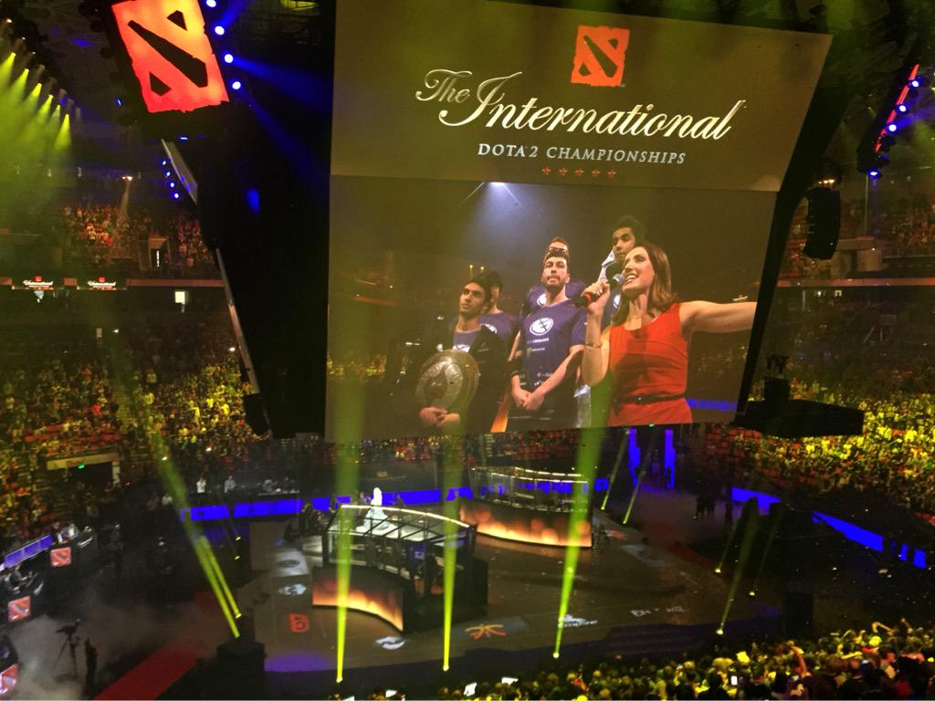 Evil Geniuses conquer The International 5 winning over 6 million dollars! #TI5 http://t.co/Jqi6IWQPO1