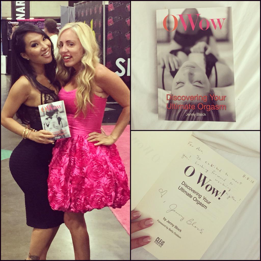 Got my copy of OWow signed by : ) #dallas #exxxotica Can't wait to read this