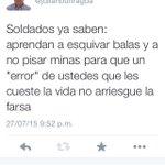 Qué quiere decir el Gbno Santos cuando exige cero errores a las FFAA? http://t.co/7exDK6Iy6o