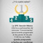 Atento al aviso #spe #unacar #Mexico http://t.co/SkZvrZNh8k