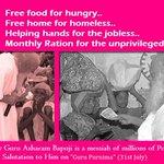 There is no one as generous as our Asaram Bapu Ji. Bapuji inspired us to do SEWA. #MyGuruPurnimaWith_बापूजी . :) http://t.co/Rdj6IMkayc
