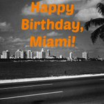 Happy 119th Birthday, #Miami! Photo from the County Causeway (now McArthur Causeway) in 1947. http://t.co/MieYkdVXFf