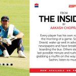How do players prepare for a match, their turn to bat or bowl...few chapters on this aspect in #TheInsider http://t.co/l7qRRUiiLt