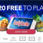Sponsored: Charity Shield. Football is coming! Celebrate with FREE £20 at LadyLucks Click http://t.co/md7pHWPss7 #Ad http://t.co/ZpaVKGXFkx