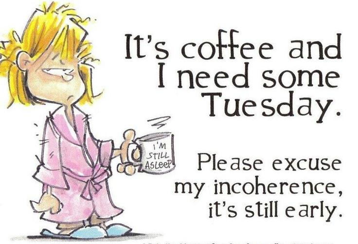 Forget #MondayMotivation! Searching for Tuesday motivation at the bottom of another cup of #coffee. Who's with me? http://t.co/56WQsN71tP