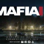 Mafia 3 fue confirmado! ???? y finalmente, podremos ver su trailer el 8 de agosto! ???? http://t.co/FAXFveNNei