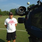 Talking with @SGStormFootball HC Darryl Brown as the Storm take the field Tuesday to begin Mini-Camp..@WFMY @WFMYhss http://t.co/llwBaSnKAZ