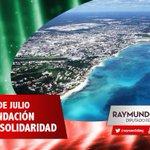 El 28 de julio de 1993, se formó por decreto del Congreso del Estado el municipio de #Solidaridad http://t.co/Md9fAkYOBZ