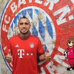 """Vidal: """"Estou muito feliz. É um novo desafio na minha carreira, espero jogar bem e ajudar o Bayern a ganhar títulos"""" https://t.co/HrNKNVo2Wc"""