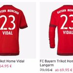En vivo: Ya están a la venta las camisetas de Arturo Vidal en Alemania. http://t.co/DF6q71PsBu http://t.co/53angHr2T8