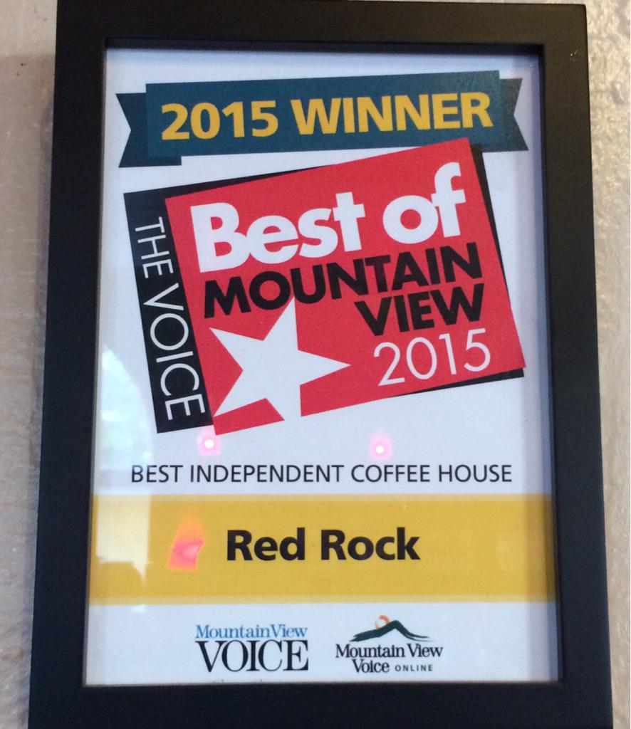 Thank you so much Mountain View. You have voted us the best Indy Coffee House again! http://t.co/VaMcH1ANiz