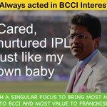 Acted in @BCCI interest, if U sold franchise-would U not sell to ROBUST companies?Not business sense but common sense