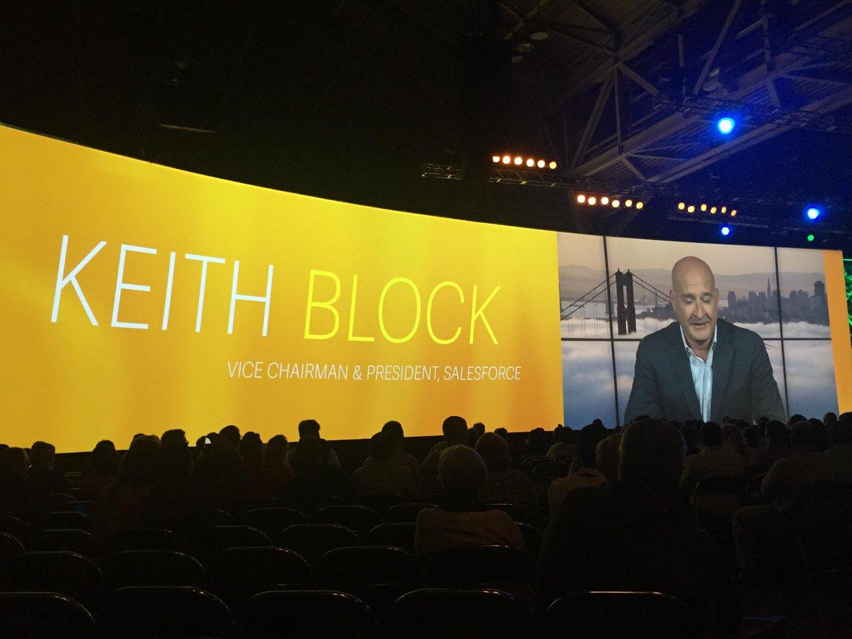 Salesforce CEO @keithblock live @sage_summit talking #sagelive  #SageSummit http://t.co/EC8kSYWScl