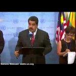 """¿Y entonces? Maduro no aceptará """"monitoreo"""" de la ONU en las parlamentarias http://t.co/HC0qRAEYeo http://t.co/4utNZiCf9b"""
