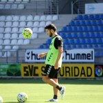 Dani Pacheco ha realizado esta mañana el primer entrenamiento con el equipo. ¡Bienvenido @dani37pacheco! #animopues http://t.co/QI8KIJrZ5Z