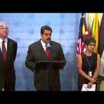 Maduro se negó a hablar sobre presos políticos durante rueda de prensa en la ONU http://t.co/dxwD6sLA9j http://t.co/ioIQ9usksi