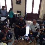 Pide @gustavotampico tener cultura de denuncia y anuncia estrategias adicionales de seguridad en fuero común #Tampico http://t.co/tuKWjYRMj2