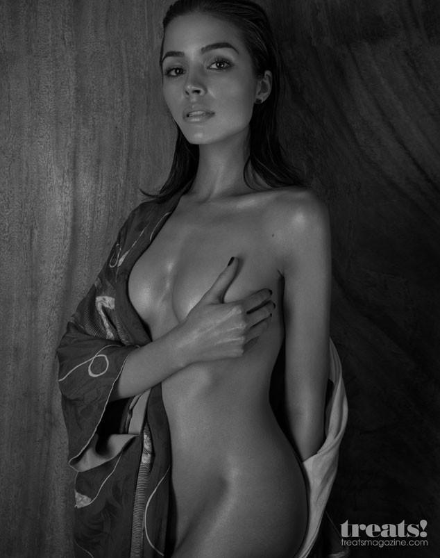 Think Nick Jonas is jealous? His ex Olivia Culpo is super naked in Treats! Magazine: