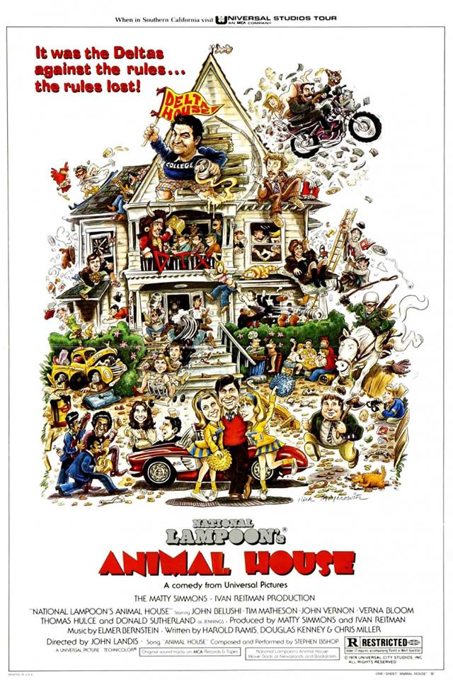 They can't do that to our pledges. Only we can do that to our pledges! On this day in 1978 #AnimalHouse premiered! http://t.co/1CsyGLIFrW