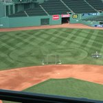 Fenway Park is all 45-ified tonight. http://t.co/T4ao92zZEY