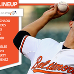 TONIGHTS LINEUP: The #Orioles are going for their fourth straight win! http://t.co/J0SyRgSpqn #AxAtlanta http://t.co/5vkSAWrmdO