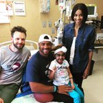 RT @DangeRussWilson: What an angel @SeattleChildren w/ @Ciara & @JoelMcHale
