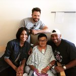 RT @DangeRussWilson: Marques is a true leader! @SeattleChildren with @Ciara & @JoelMcHale