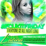 Tomorrow #FcukFriday at #ClubLaCura Everyone $2 All Night! http://t.co/A1IqJtX6fK b