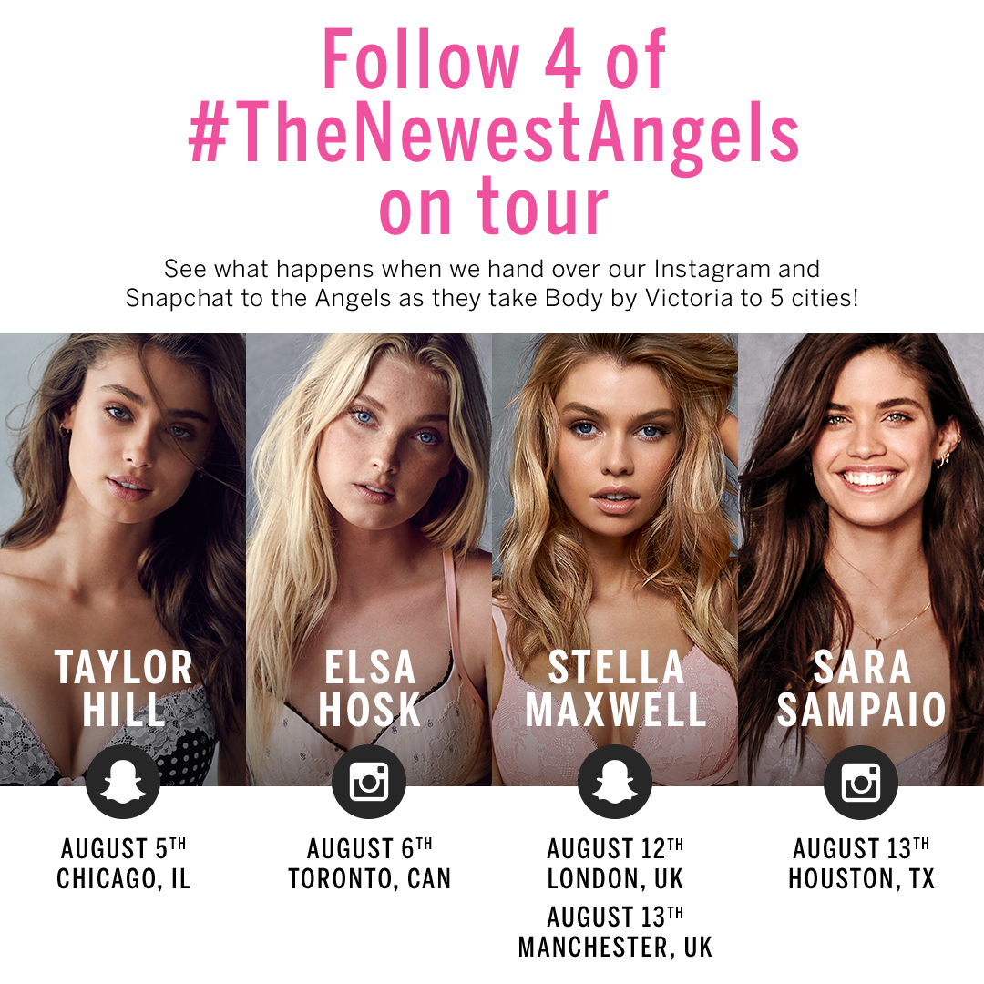 #TheNewestAngels are going on tour! Stay tuned, & shop the new collection now: http://t.co/4xnvvtaDX3 http://t.co/MHlx5PgVvp