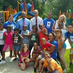 SuperKids Campers had a blast w/ Stan Stovall, @dhamiltonwbal & @LesterHoltNBC today! Thanks for visiting! #Baltimore http://t.co/VwMEaZzTaT