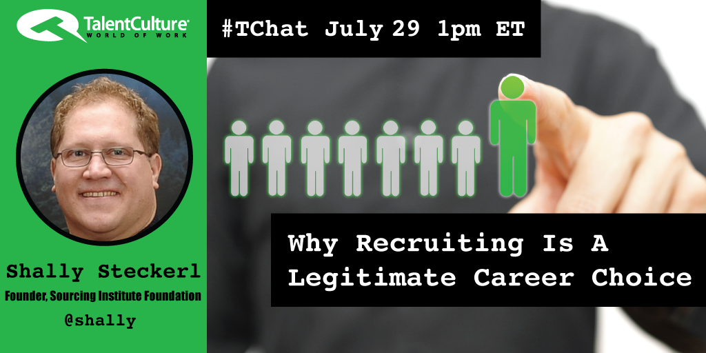 TOMORROW > #TChat Preview: Why #Recruiting Is A Legitimate #Career Choice http://t.co/MhNigrp2vo http://t.co/14lUtKXBHe