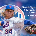 Guards up in NYC! Noah Syndergaard strikes out 9 and allows 3 hits as Mets beat Padres, 4-0. NYM wins 3rd straight. http://t.co/umJvR71m6z