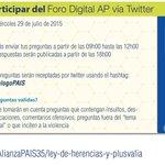 Compartimos las declaraciones de @MashiRafael sobre herencias y plusvalía #DiálogoPAIS http://t.co/e4hrLSWawe http://t.co/Bsb14rhsPr
