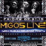 @Migos LIVE @MansionElan FRIDAY!! [18+]  YRN ALBUM RELEASE PARTY  ONLY $5 ALL NIGHT  DOORS OPEN @ 9PM  http://t.co/z7559JsTwN RT x9