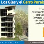 Los #Glas y un edificio de #Guayaquil levantado contra viento y polémica. http://t.co/WOx7yjJ43h #CerroParaíso http://t.co/eltpsHW7Ik
