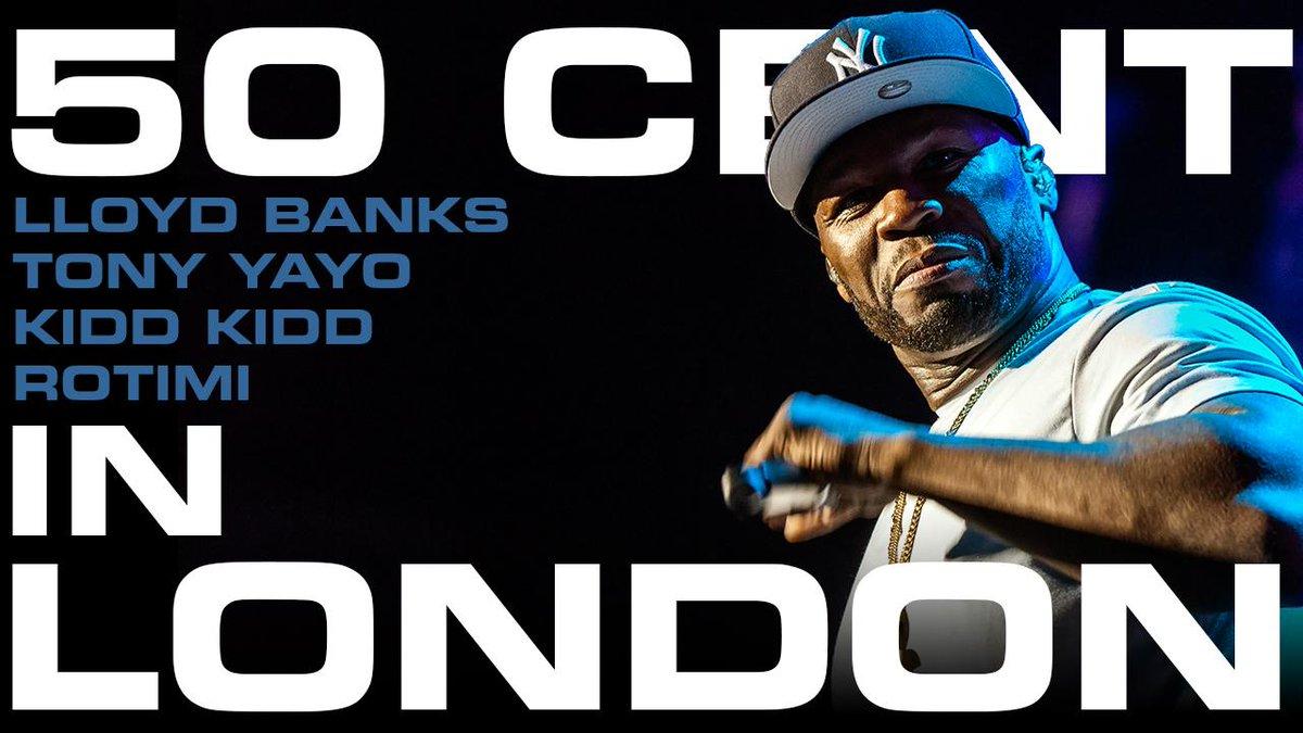 RT @thisis50: Watch: @50cent in London w/ @Lloydbanks, @TonyYayo, @ItsKiddKidd, @Rotimi and @myfabolouslife http://t.co/G62jM0Rlsu http://t…