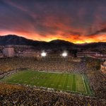 The sunset shot to end all sunset shots. #GoBuffs @Pac12Networks http://t.co/hDPpwIwMGi