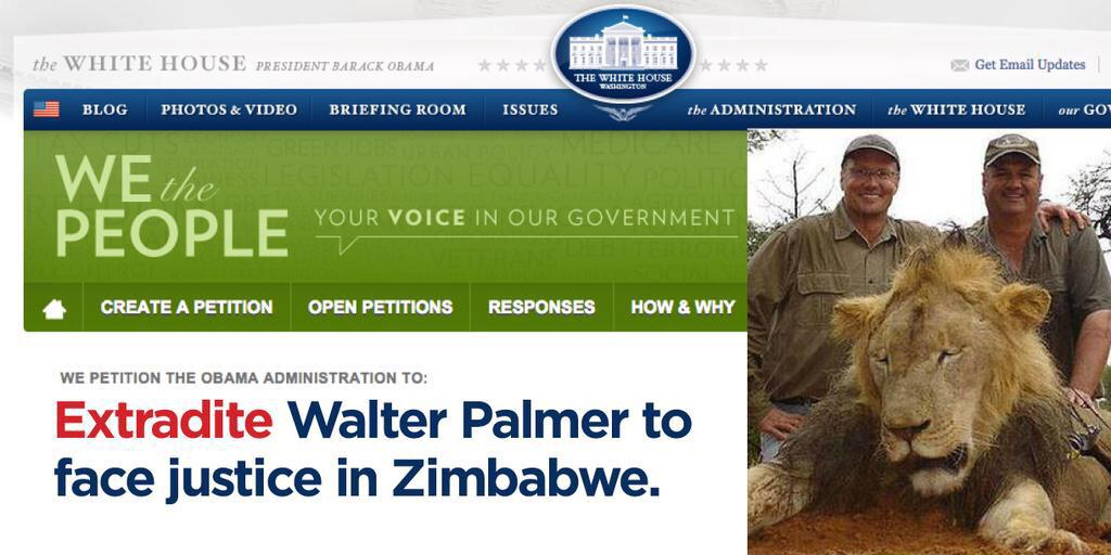 Tell @StateDept to cooperate with #Zimbabwe to extradite #WalterPalmer.  @anamariecox https://t.co/qfP99yi0s9 http://t.co/v3RBwUZGAp