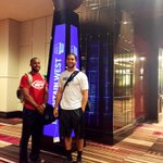 Chuckie and Kyler have arrived in Vegas for the MW Football Media Days. #MWFB http://t.co/E1FOiEgHbl