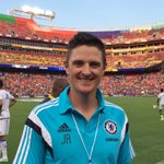 Great to see big @ChelseaFC fan @JustinRose99 here to cheer on the Blues... #CFCTour http://t.co/YSOXWaFqCj