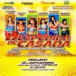 Seis hermosas mujeres brillarán en #Maturín con la obra de teatro #DespedidadeCasada http://t.co/kJZwZf9STD