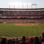 Nothing better than a summer night at the ballpark. #Birdland #CamdenYards http://t.co/rClcMuzAgl