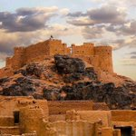 قلعة #غات القديمة .. معلم من معالم ليبيا المنسية و التي لا تظهر في صور المصورين عكس باقي المعالم الاخرى المعروفة ! http://t.co/CkGiJwWE4c